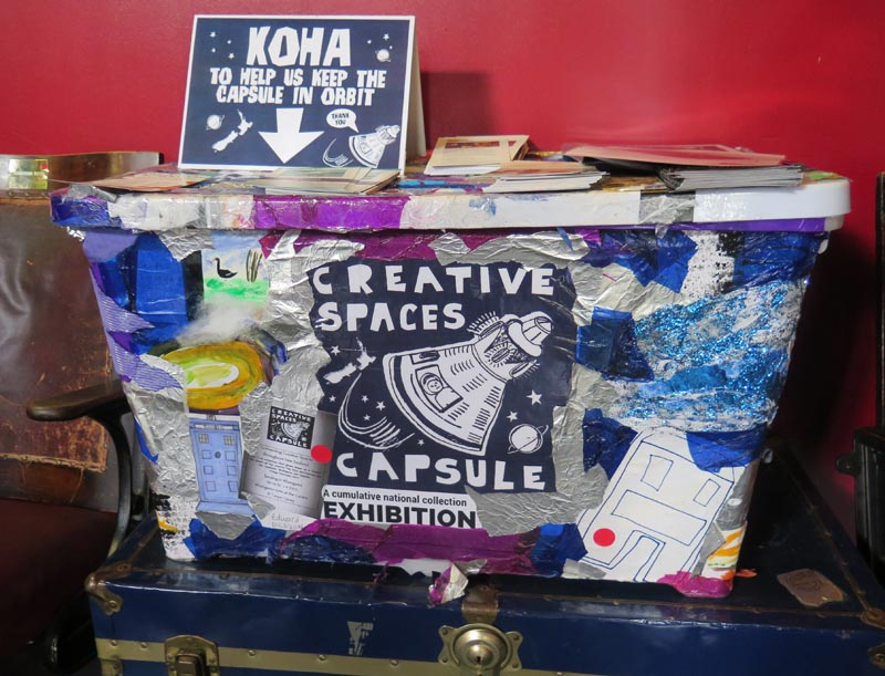 Creative Spaces Capsule Project container