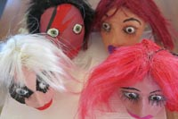 Puppets created by Graham Lalor