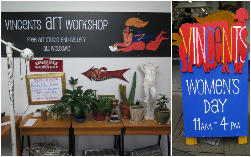 Vincents Art Workshop in downtown Wellington