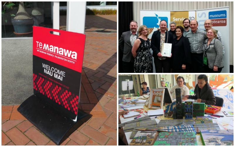 Images of Te Manawa at the MA17 conference