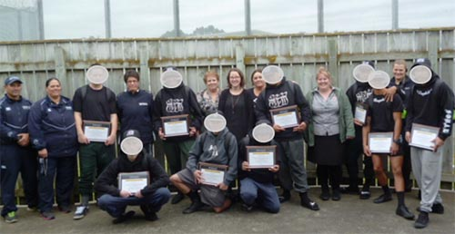 Offenders in the Youth Unit of Hawke's Bay Regional Press took part in a 12-week graphic design project