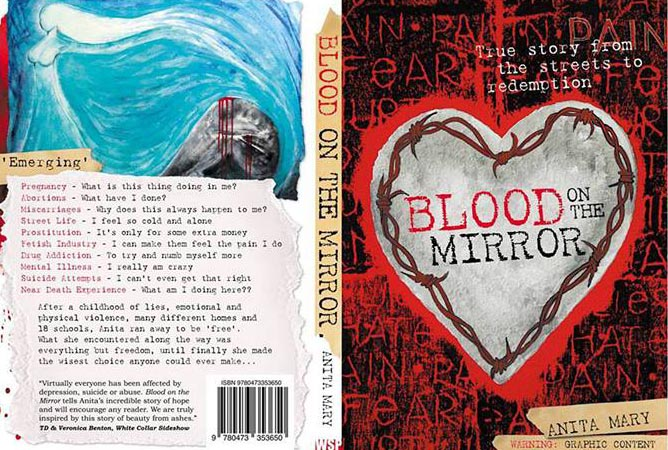 Book cover of Blood On The Mirror