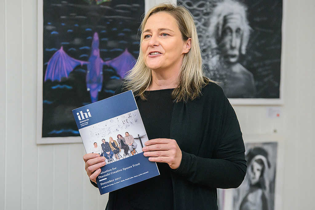 Cath Savage, Ihi Research Director
