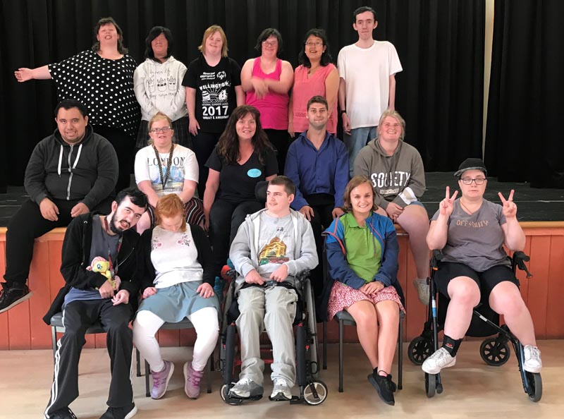 Inclusive Performance Academy of Canterbury students