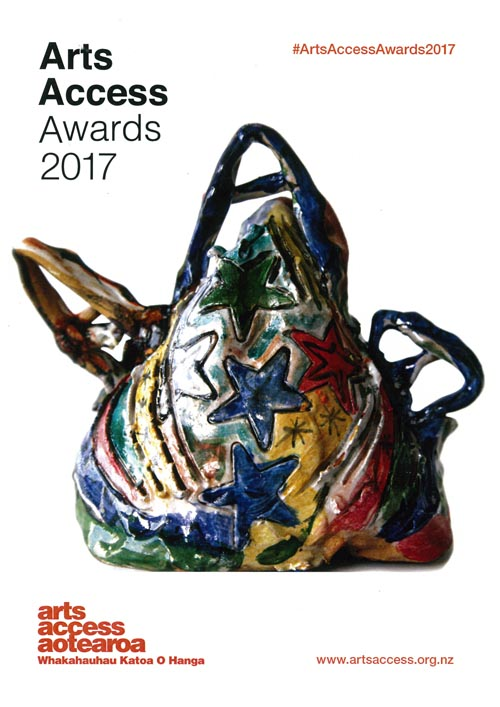 Arts Access Awards 2017 programme cover