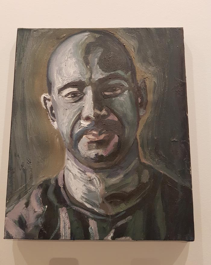 Myuran Sukumaran, self-portrait at a time when he was less tormented