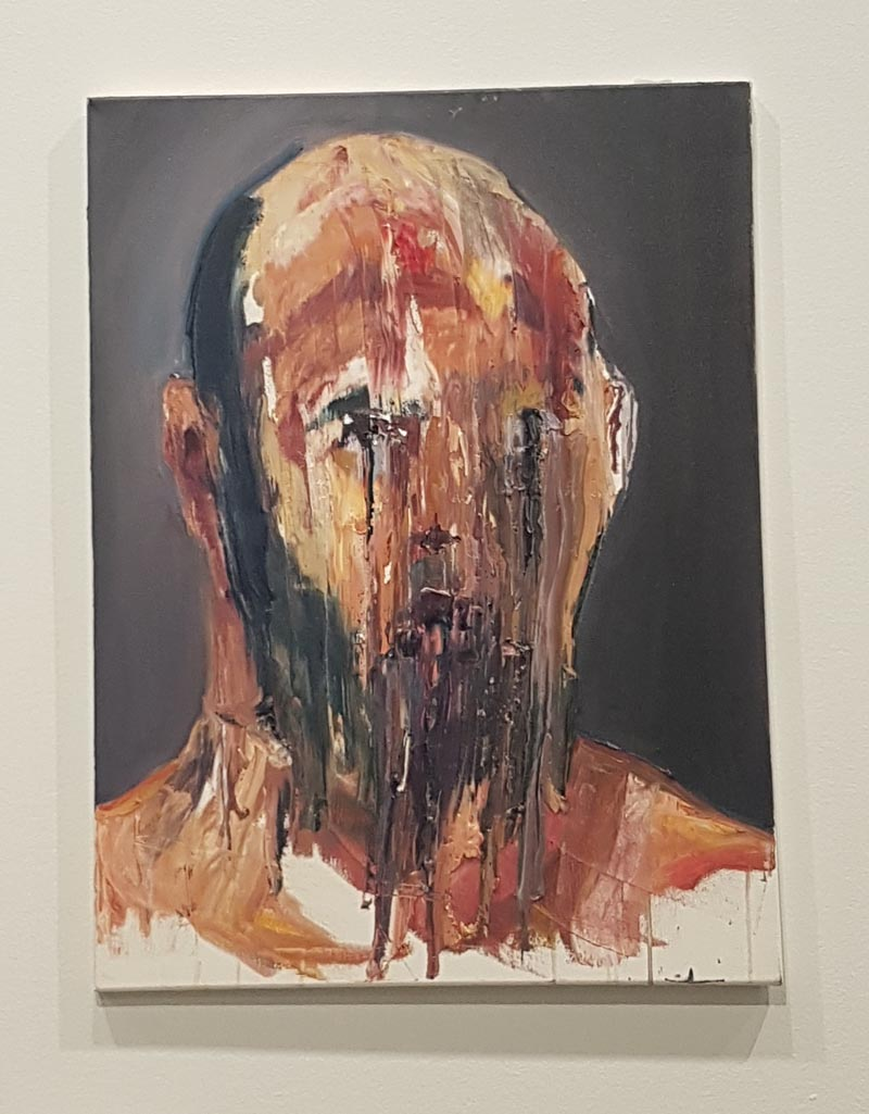 Myuran Sukumaran, self-portrait in the final 72 hours of his life