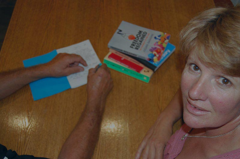 Creative writing tutor Bridgette Jochems