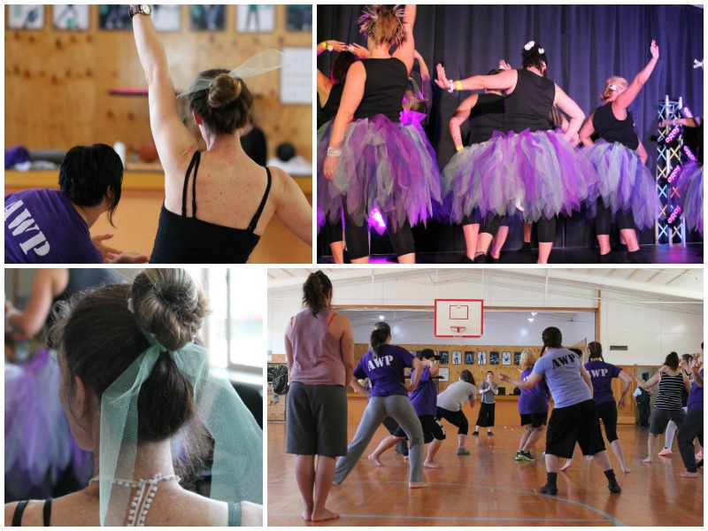 RNZB ballet workshops in Arohata Prison