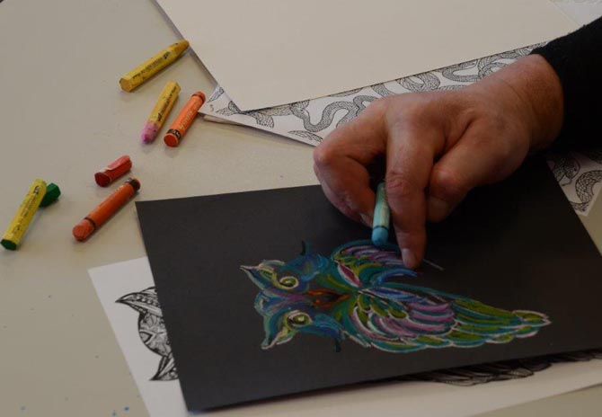 Access to art materials in the Drug Treatment Unit of Rimutaka Prison