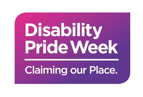Disability Pride Week logo