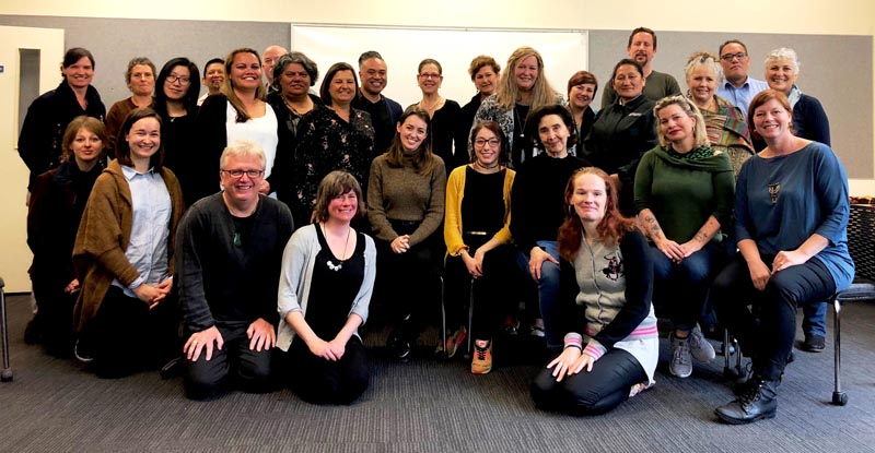 The September 2018 meeting of the Northern Region Arts in Corrections Network