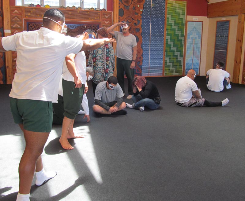 Performing arts at Northland Region Corrections Facility