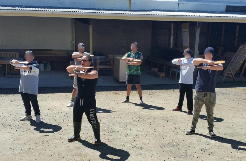 Rue-Jade Morgan teaches tikanga at Otago Corrections Facility