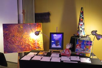 Affordable art at the Awesome Arts Acces Auction