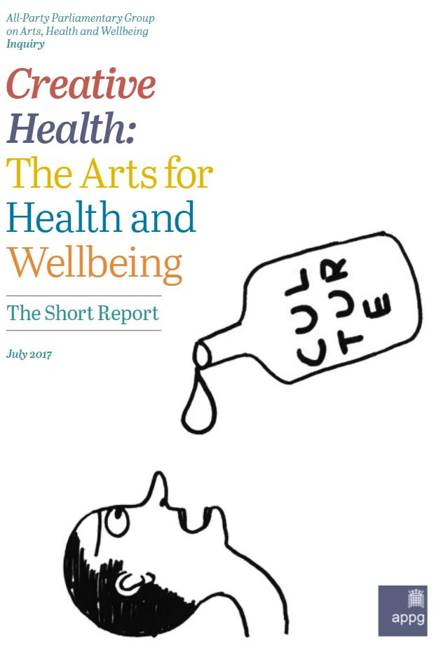Creative Health report cover