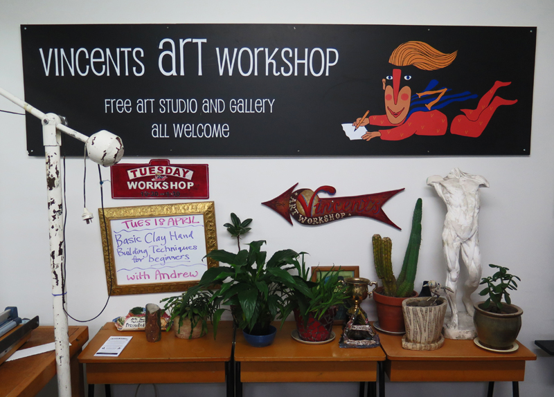 Vincents Art Workshop