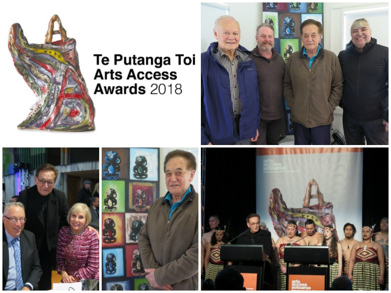 Collage of images with Bill Kaua and the Ngati Poneke Young Maori Club