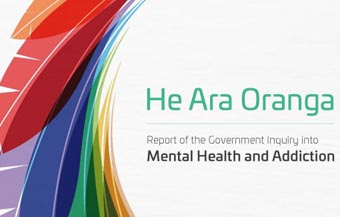 cover of Mental Health Inquiry report