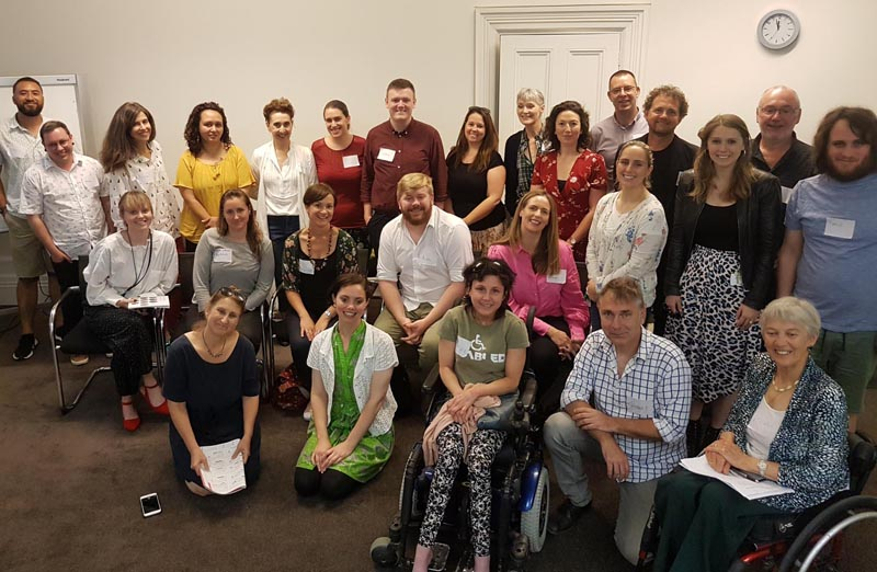 Arts For All Auckland Network December 2019 meeting