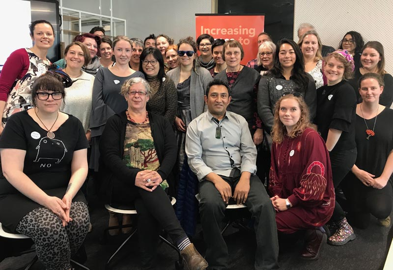 Members of the Arts For All Wellington Network met in September 2019