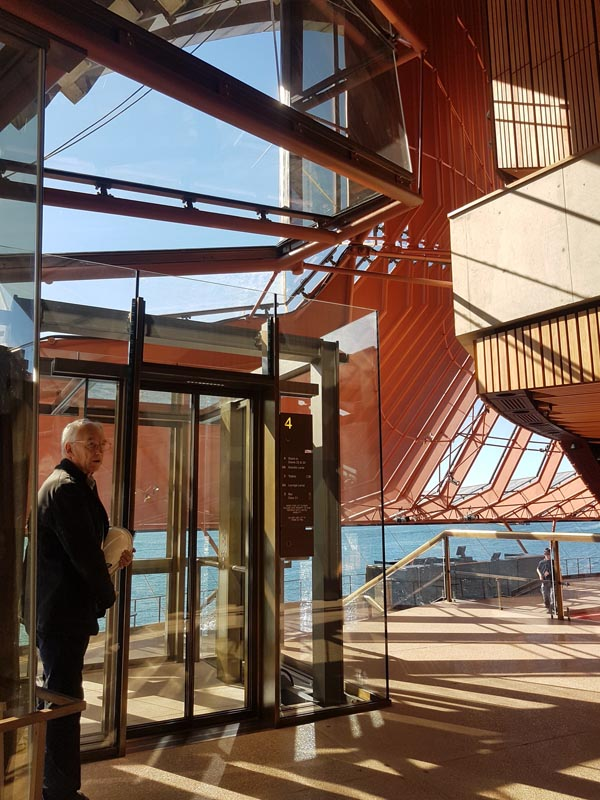 Alan Crocker, Conservation Architect, talks about the new glass elevator