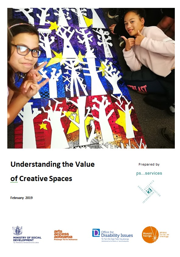 Cover of Understanding the value of creative spaces report