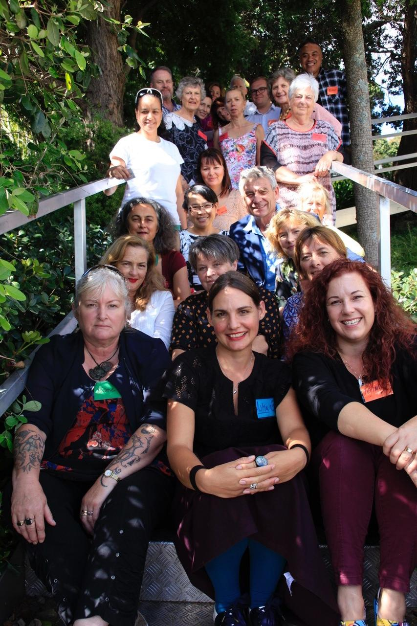 Participants in the call to action hui, September 2017