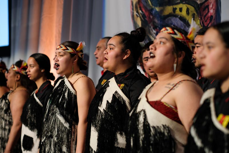 Ngati Poneke Young Maori Club performs