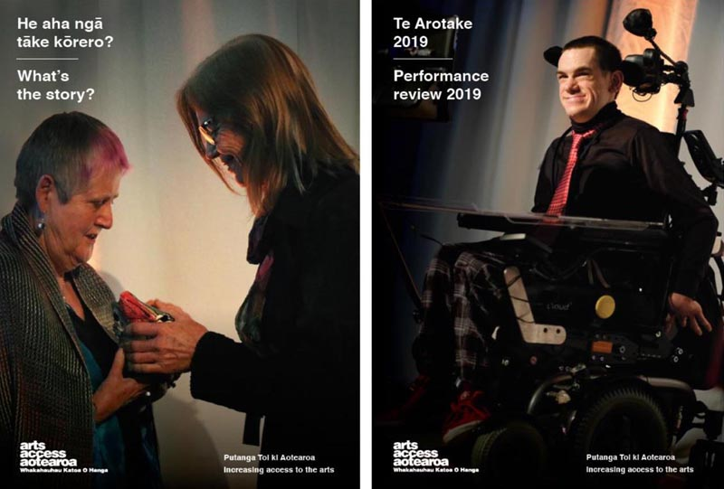 Cover images of Performance Review and What's the story? 2019