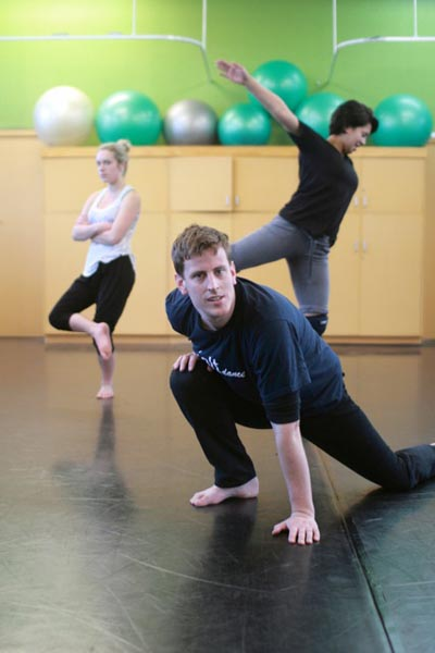 Michael Krammer, dancer and tutor