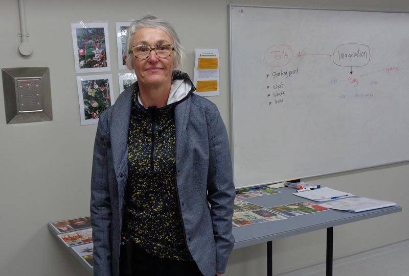 Kiri Scott, founder of Thinkit, in Invercargill Prison