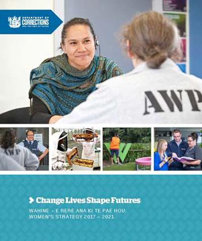 The cover of Corrections' Women's Strategy
