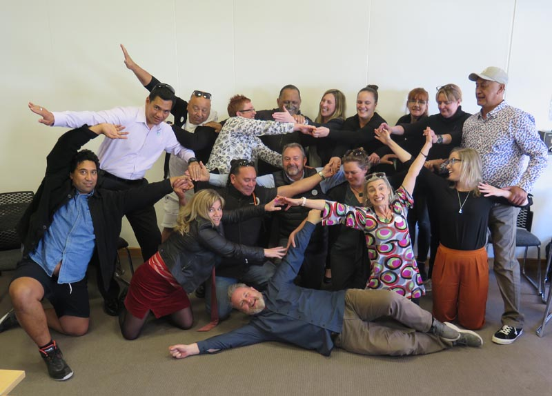 A national Arts in Corrections Network meeting, held in Wellington, September 2019