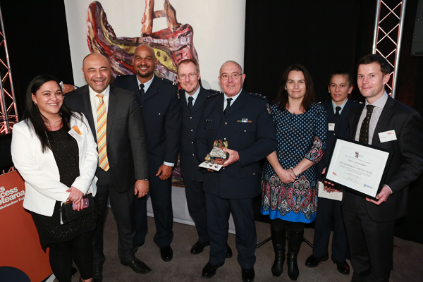 Waikeria Prison, recipients of the Arts Access in Corrections Leadership Award 2015