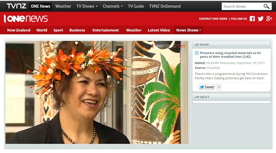Mary Ama and the Pacifica Mamas on TVNZ Breakfast