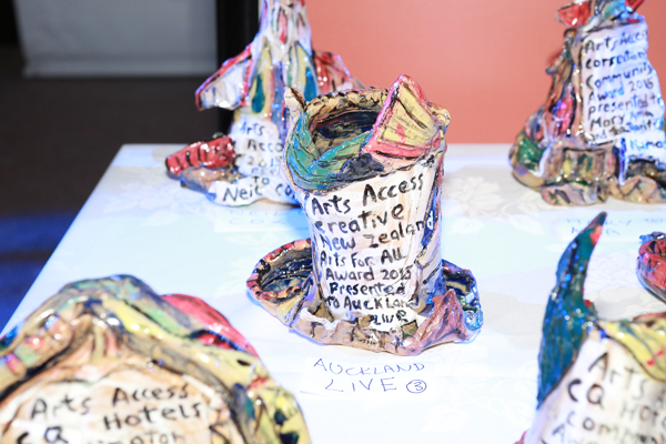 Arts Access Awards 2015 made by Robert Rapson