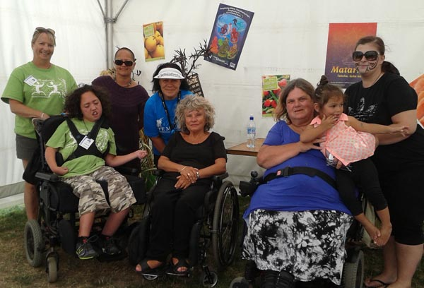 This year's Te Matatini offered a free companion ticket for disabled visitors