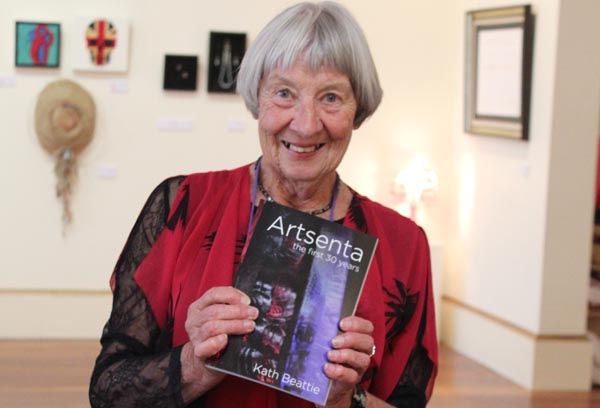Kath Beattie, author of Artsenta history