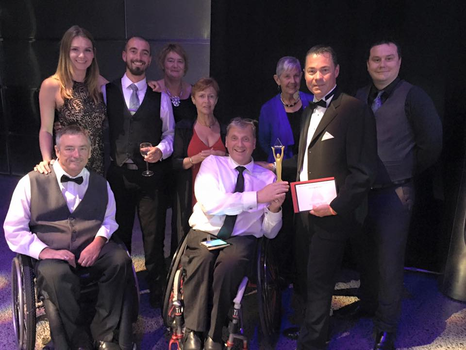 CQ Hotels Wellington win the Attitude ACC Employer Award at the 2015 Attitude Awards