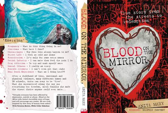The cover of Blood On The Mirror