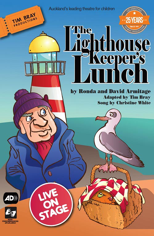 Poster advertising The Lighthouse Keeper's Lunch