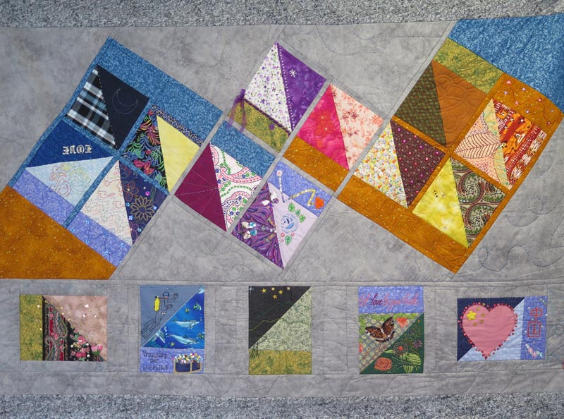 """Between Quilt"" made by prisoners at Auckland Region Women's Corrections Facility"