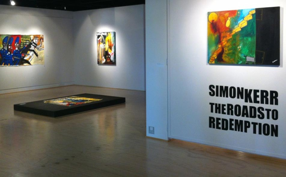 Installation image of The Roads to Redemption