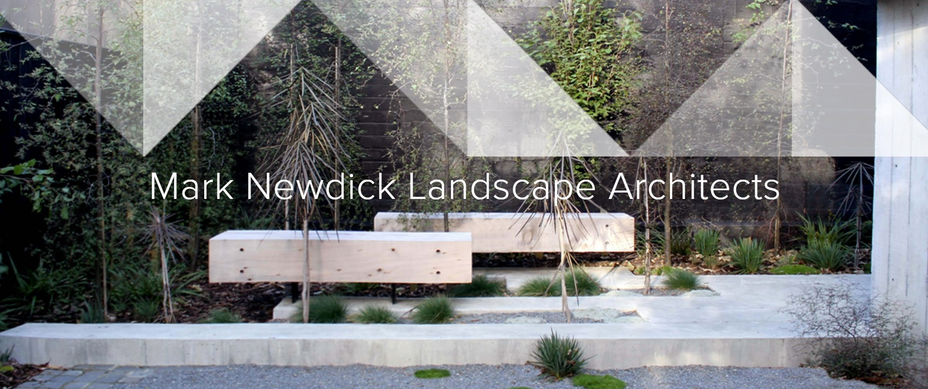 Mark Newdick Lanscape Architects logo