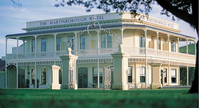 Martinborough Hotel and dinner for two at Tirohana Estate Vineyard