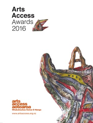 Cover of the Arts Access Awards 2016 programme