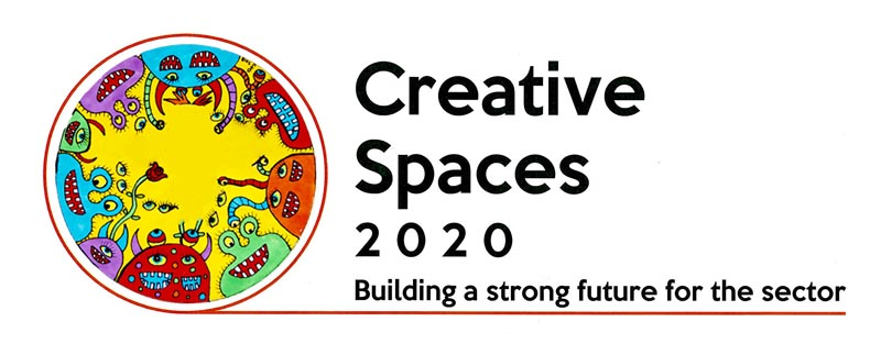 Creative Spaces 2020 logo