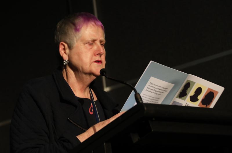 Robyn Hunt at the Arts Activated Conference 2019