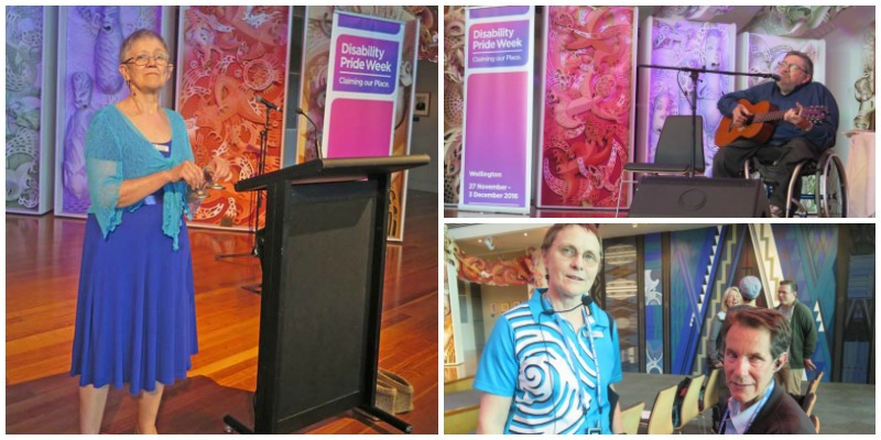 collage of photos from opening on Te Papa's Marae